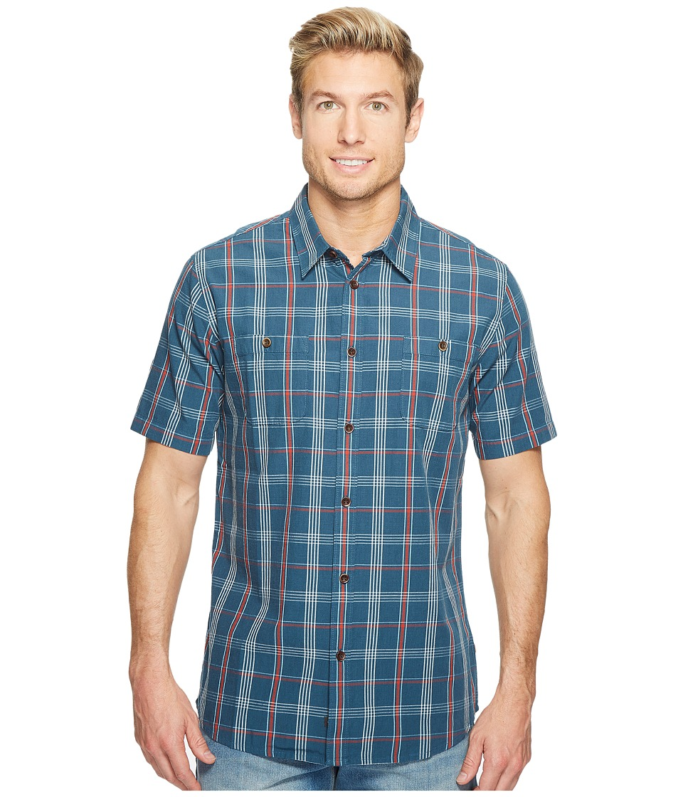 Quiksilver Waterman - Reform Woven Top (Major Blue Reform) Men's Clothing