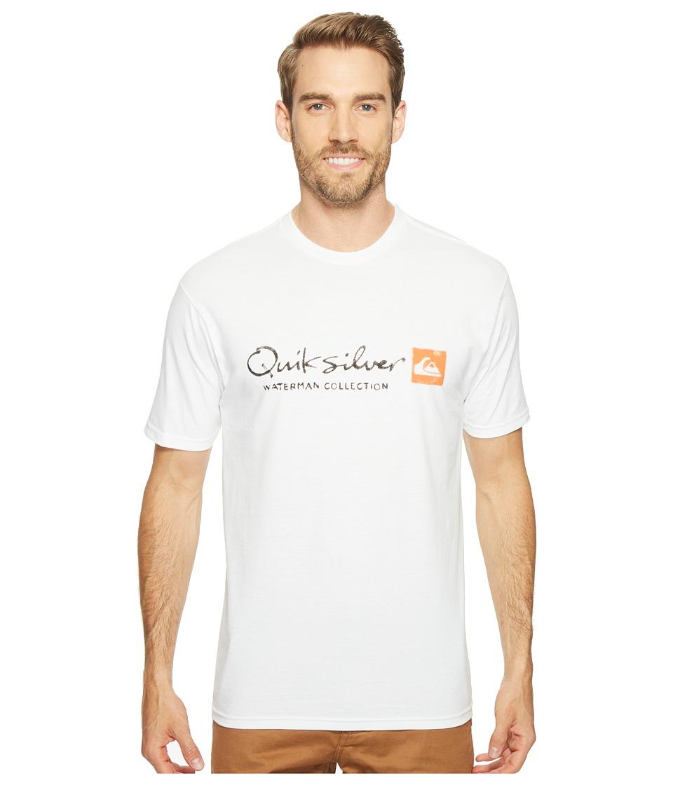 Quiksilver Waterman - Waterman Original Tee (White) Men's T Shirt
