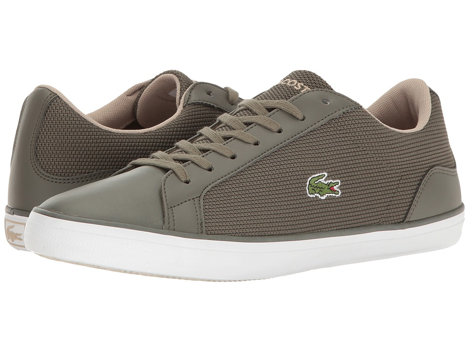 Lacoste - Lerond 117 3 Cam (Khaki) Men's Shoes