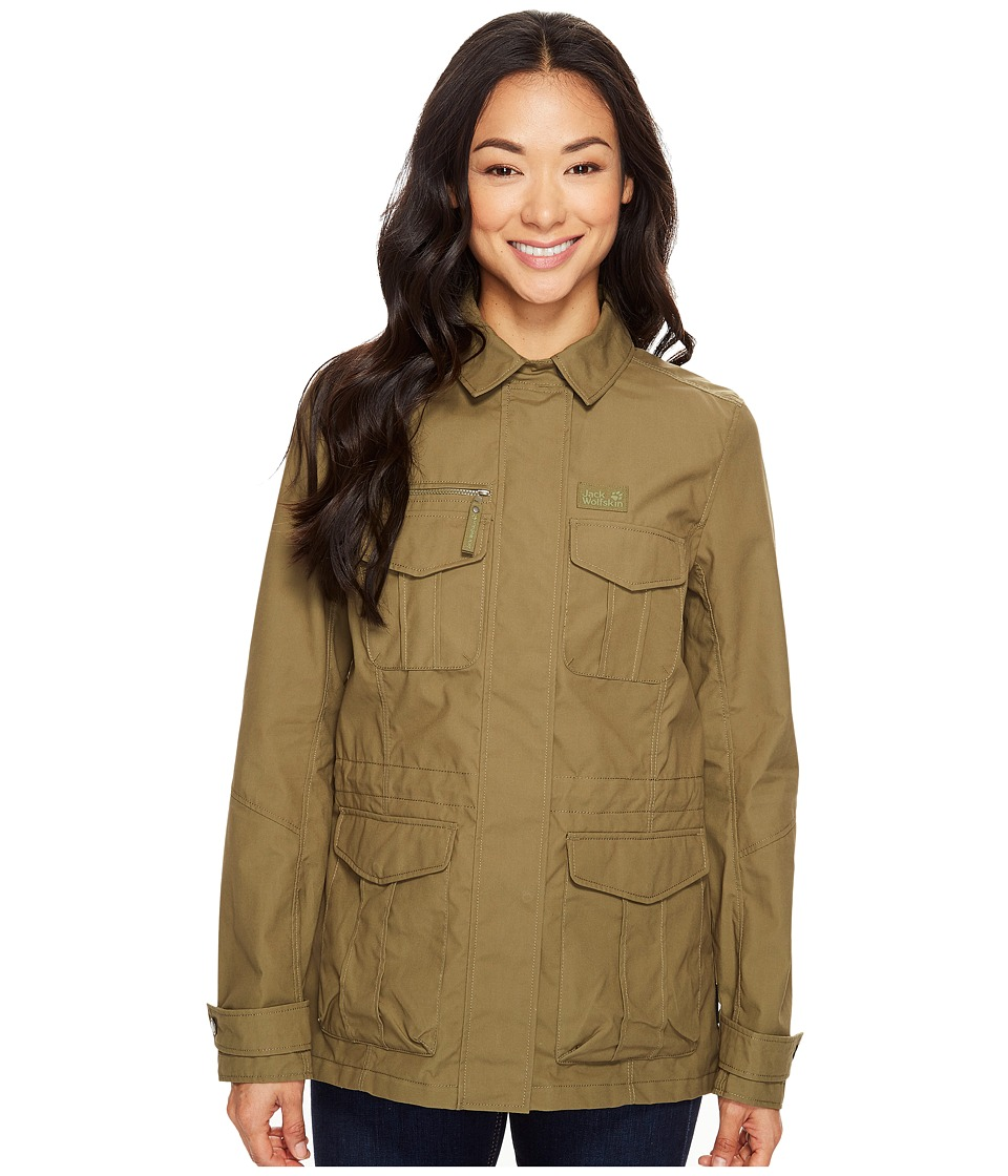 Jack Wolfskin - Rock View Jacket (Burnt Olive) Women's Coat