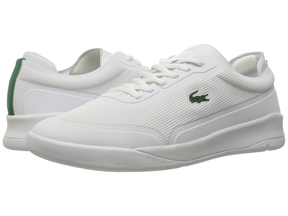 Lacoste - LT Spirit Elite 117 4 SPM (White) Men's Shoes