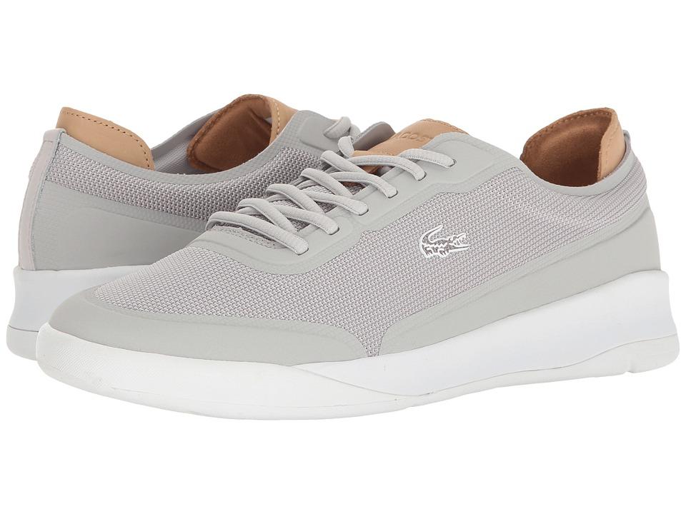 Lacoste - LT Spirit Elite 117 3 SPM (Light Grey) Men's Shoes