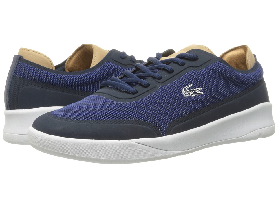 Lacoste - LT Spirit Elite 117 3 SPM (Navy) Men's Shoes
