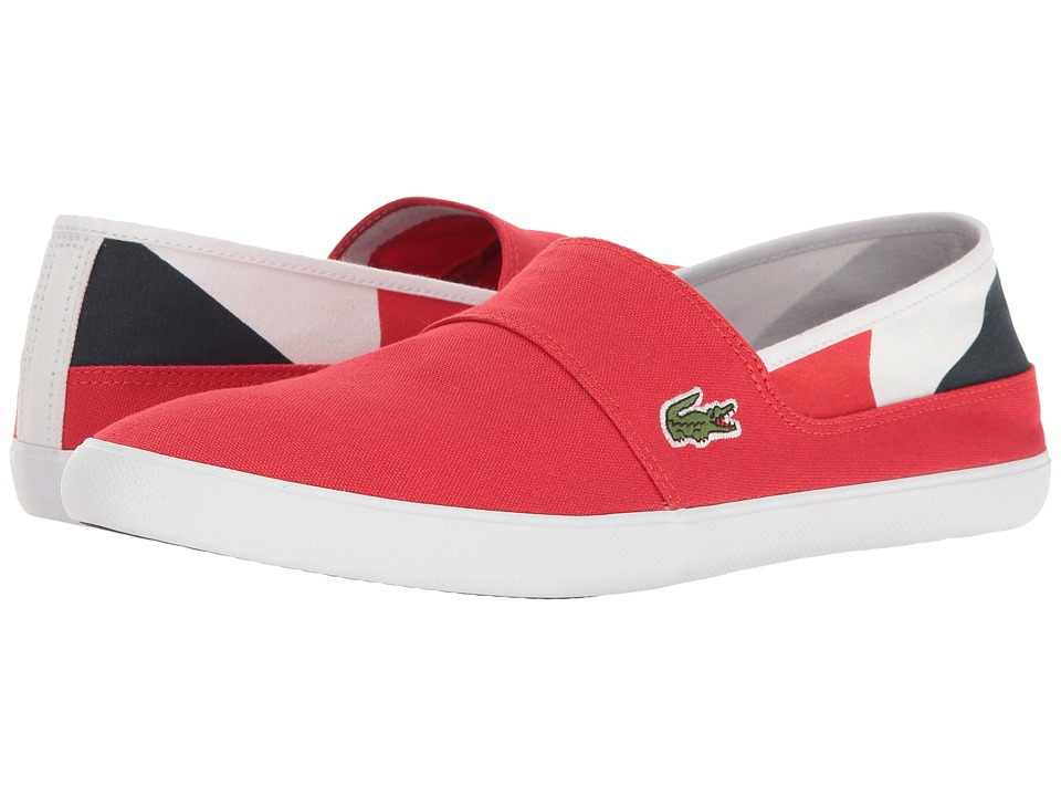 Lacoste - Marice 117 2 Cam (Red) Men's Shoes