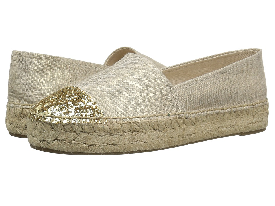 GUESS - Jaali (Gold/Gold) Women's Flat Shoes