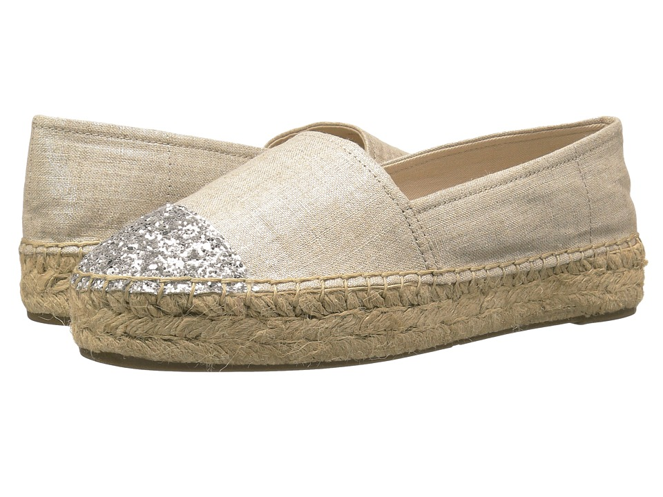 GUESS Jaali Silver-Silver Womens Flat Shoes