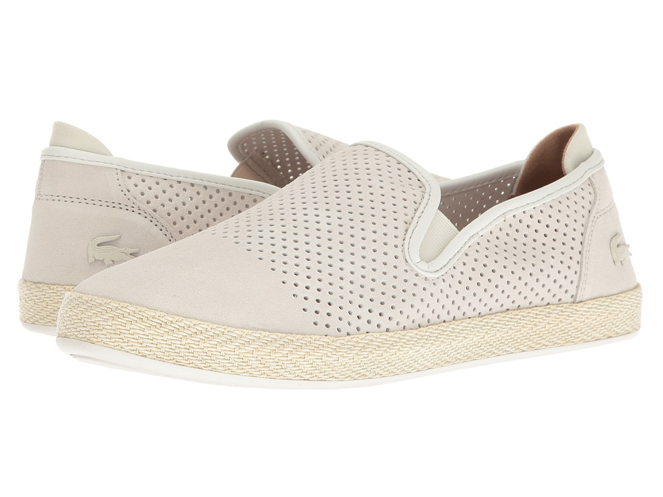 Lacoste - Tombre Slip-On 117 1 Cam (Off-White) Men's Shoes