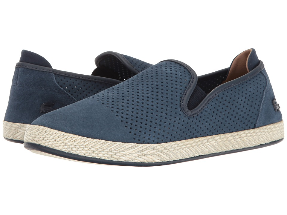 Lacoste - Tombre Slip-On 117 1 Cam (Navy) Men's Shoes