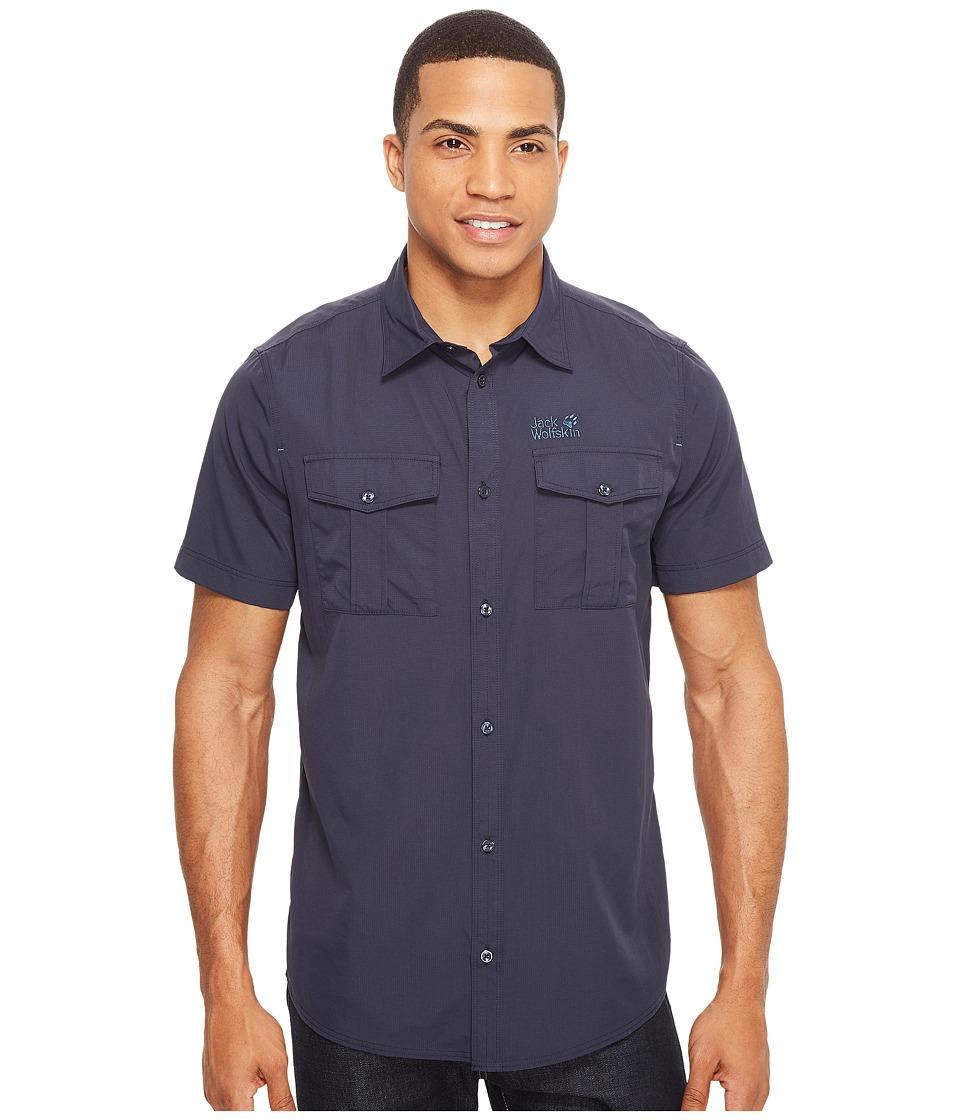 Jack Wolfskin - Atacama Shirt (Night Blue) Men's Clothing