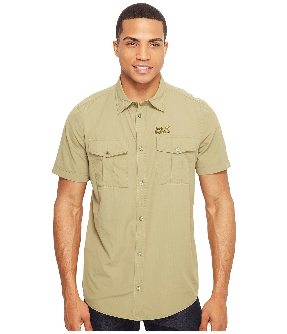 Jack Wolfskin - Atacama Shirt (Khaki) Men's Clothing