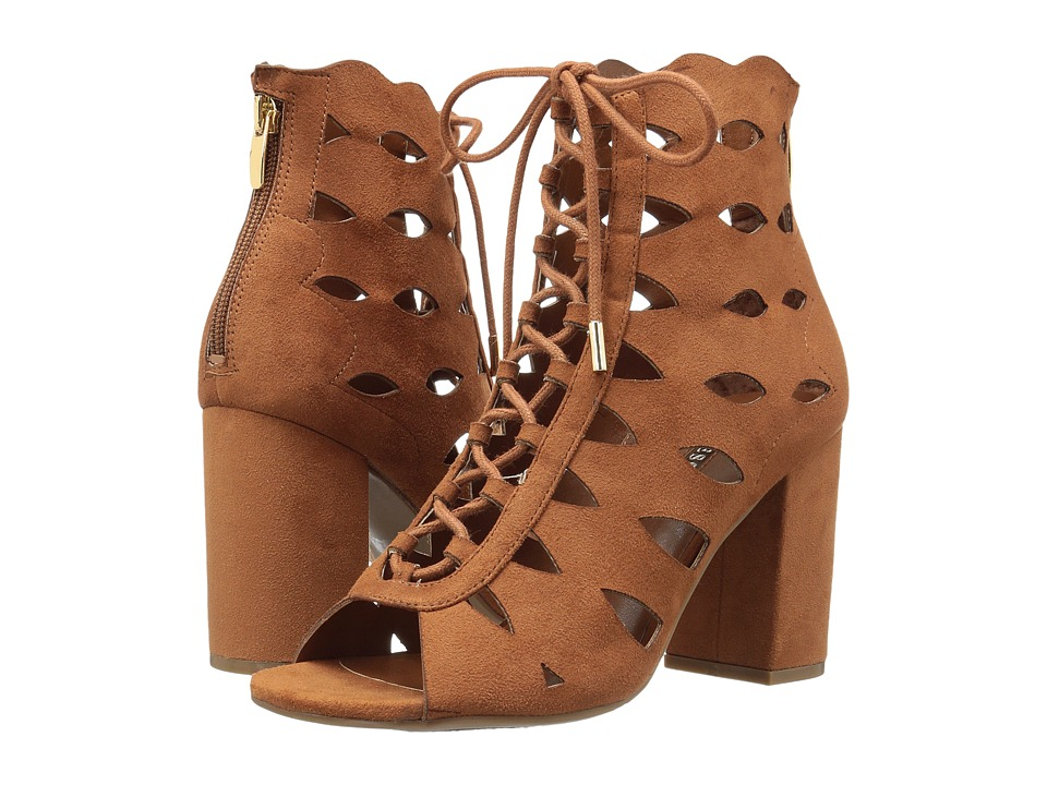 GUESS - Owina (Dark Modern Cognac/Dark Modern Cognac) Women's Sandals