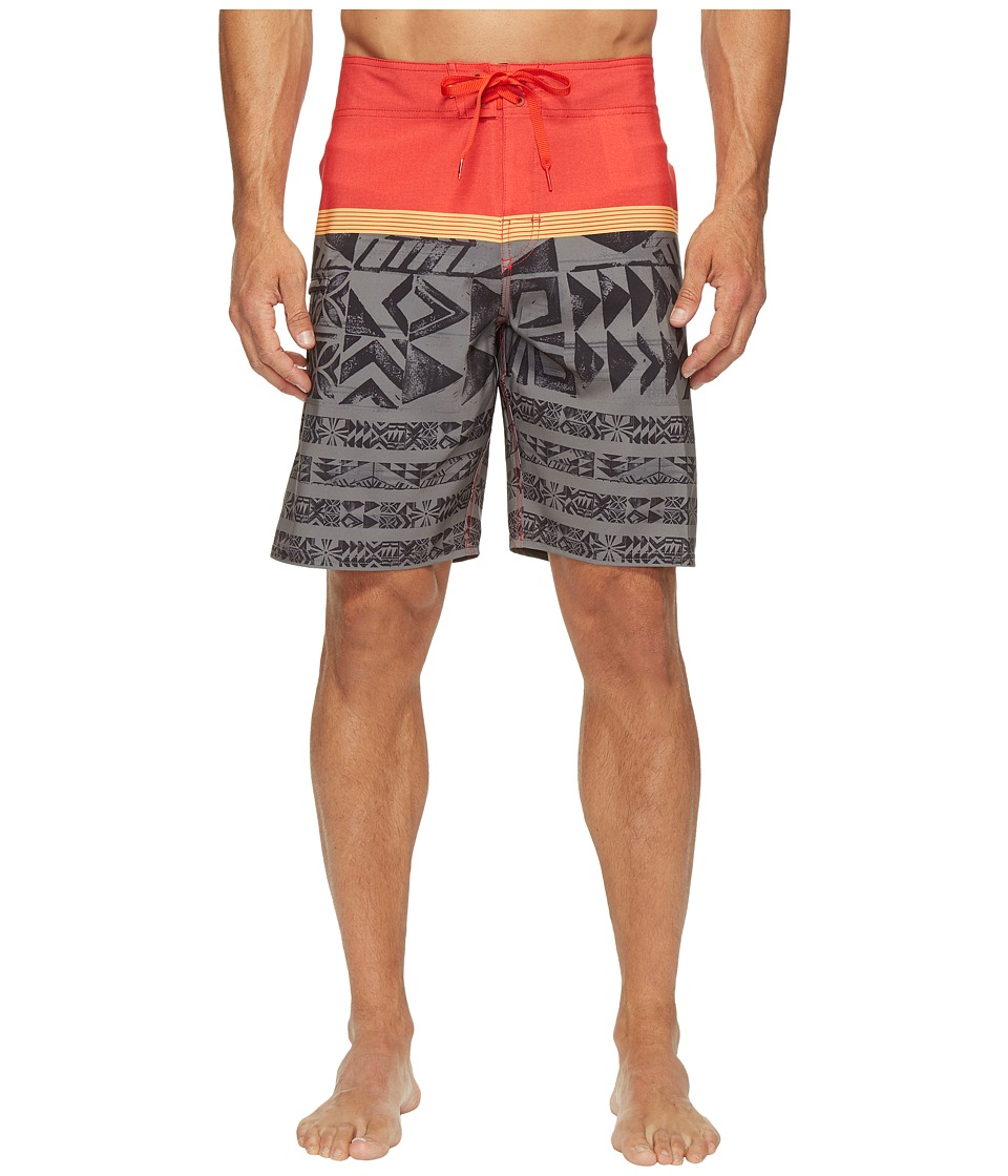 Quiksilver Waterman - Ocean Warrior Boardshorts (Castlerock) Men's Swimwear