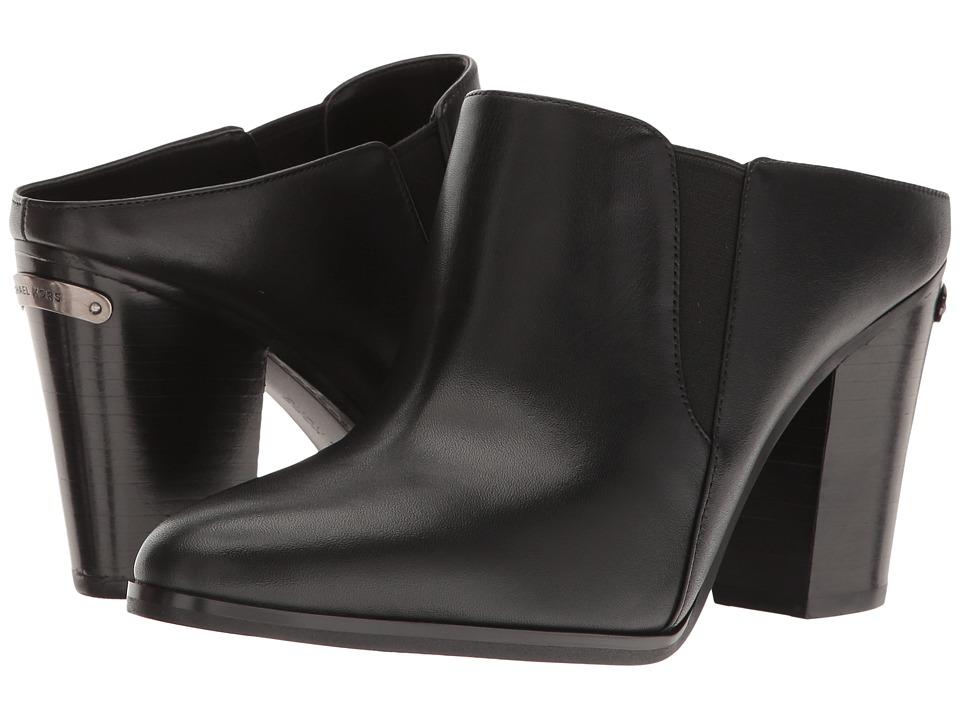 MICHAEL Michael Kors Braden Closed Toe (Black Vachetta) Women