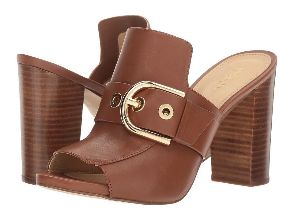 MICHAEL Michael Kors - Cooper Mule (Luggage Vachetta) Women's Shoes