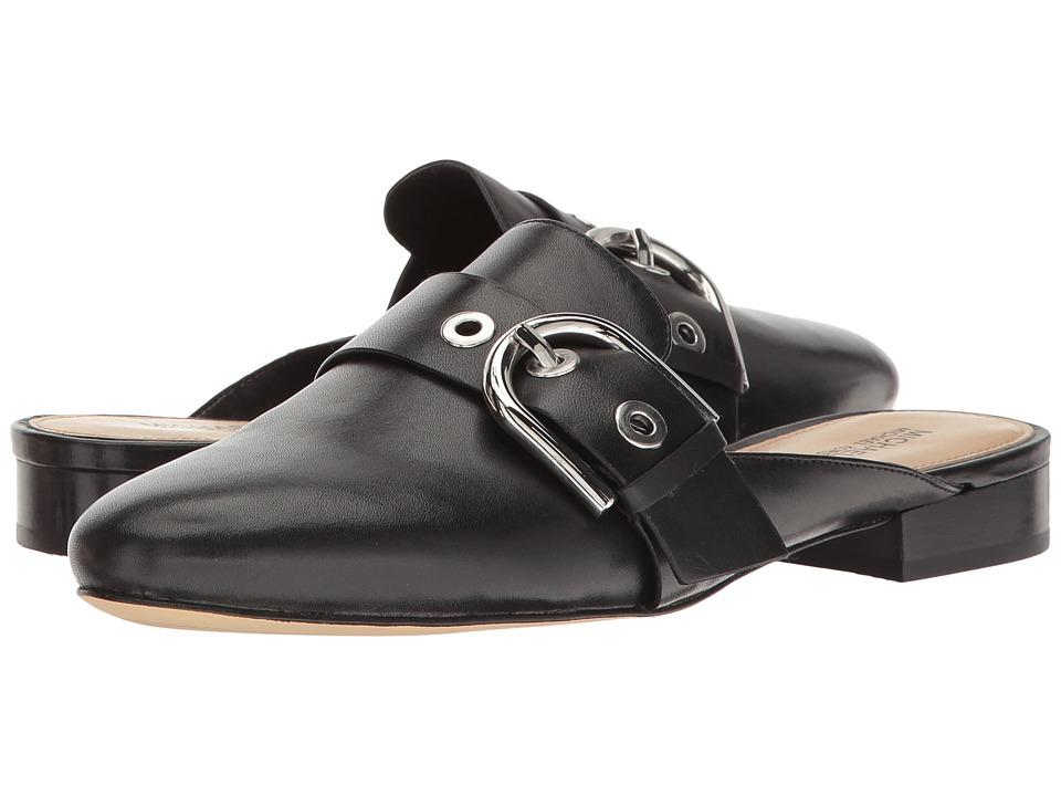 MICHAEL Michael Kors - Cooper Slide (Black Vachetta) Women's Shoes