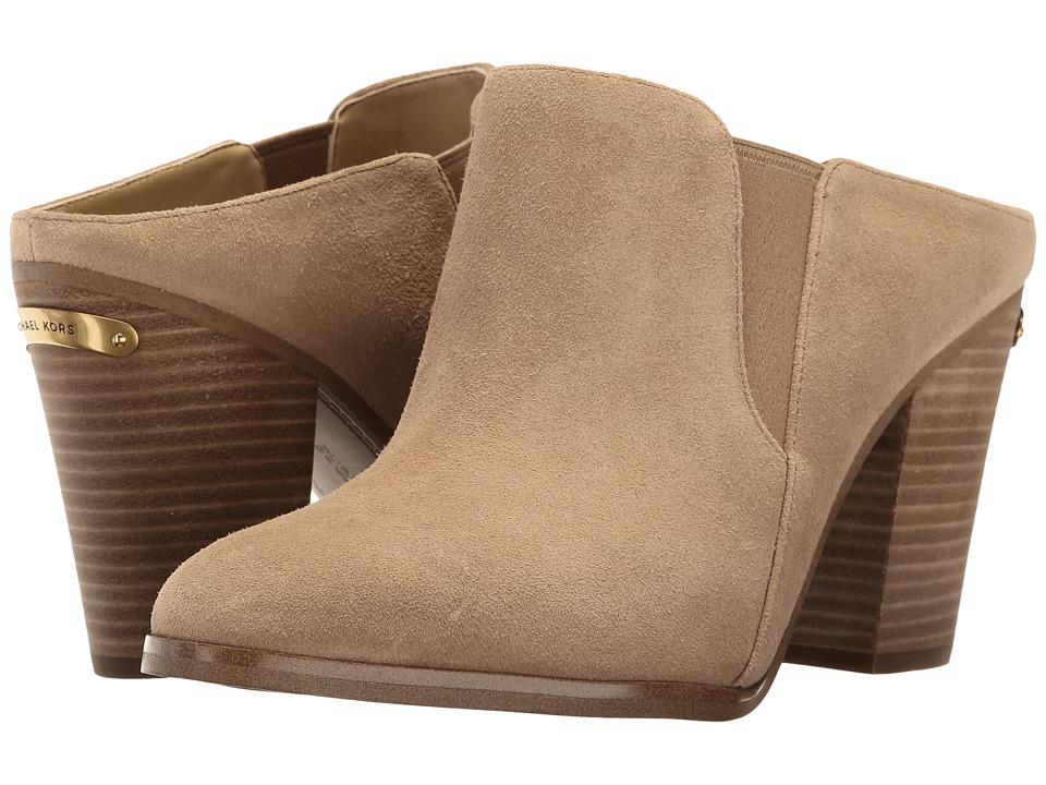 MICHAEL Michael Kors - Braden Closed Toe (Cashew Sport Suede) Women's Shoes