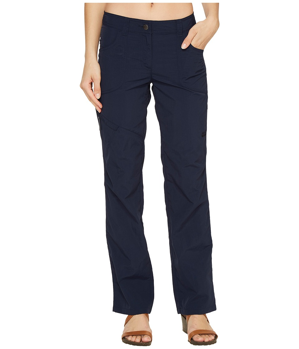 Jack Wolfskin - Marrakech Roll-Up Pants (Midnight Blue) Women's Casual Pants