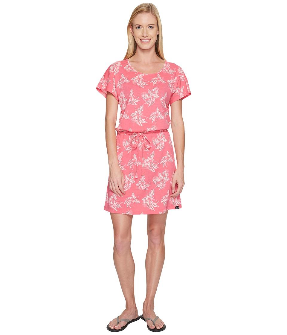 Jack Wolfskin - Tropical Dress (Tropic Pink All Over) Women's Dress
