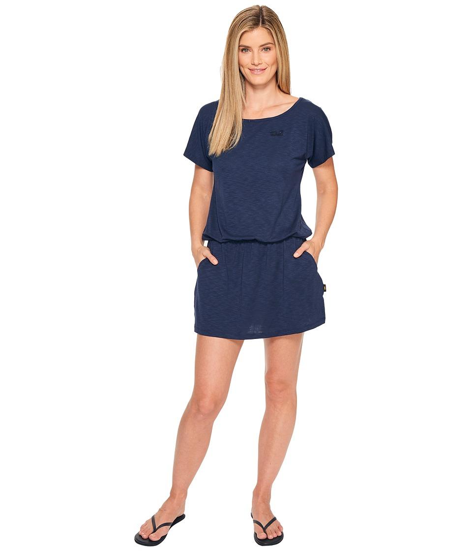 Jack Wolfskin Travel Dress (Midnight Blue) Women