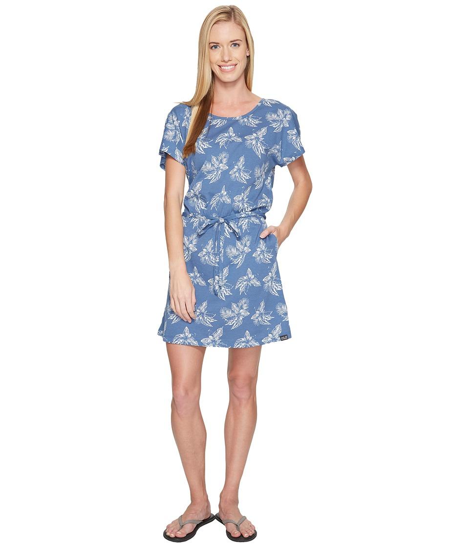 Jack Wolfskin - Tropical Dress (Ocean Wave All Over) Women's Dress