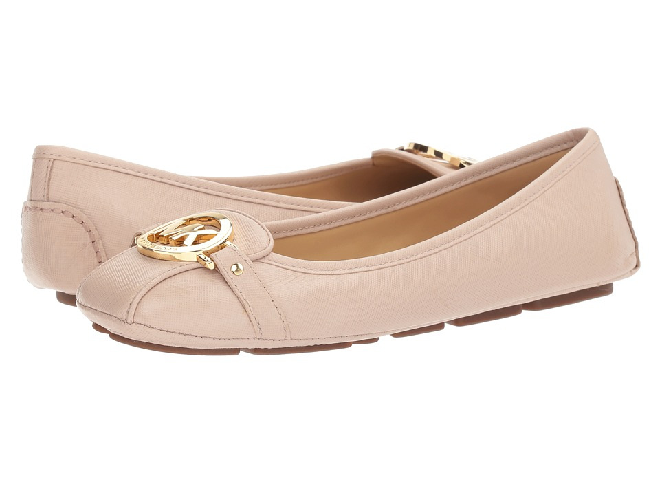 MICHAEL Michael Kors - Fulton Moc (Soft Pink Saffiano) Women's Slip on Shoes