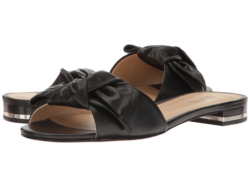 MICHAEL Michael Kors - Willa Slide (Black Nappa) Women's Shoes
