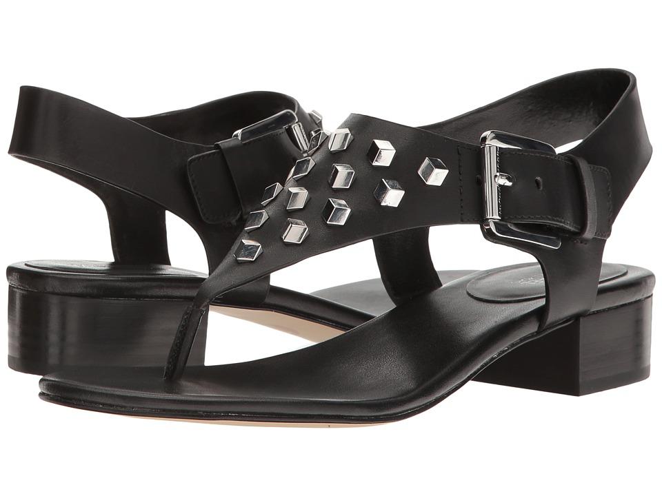 MICHAEL Michael Kors - Valencia Thong (Black Vachetta) Women's Shoes