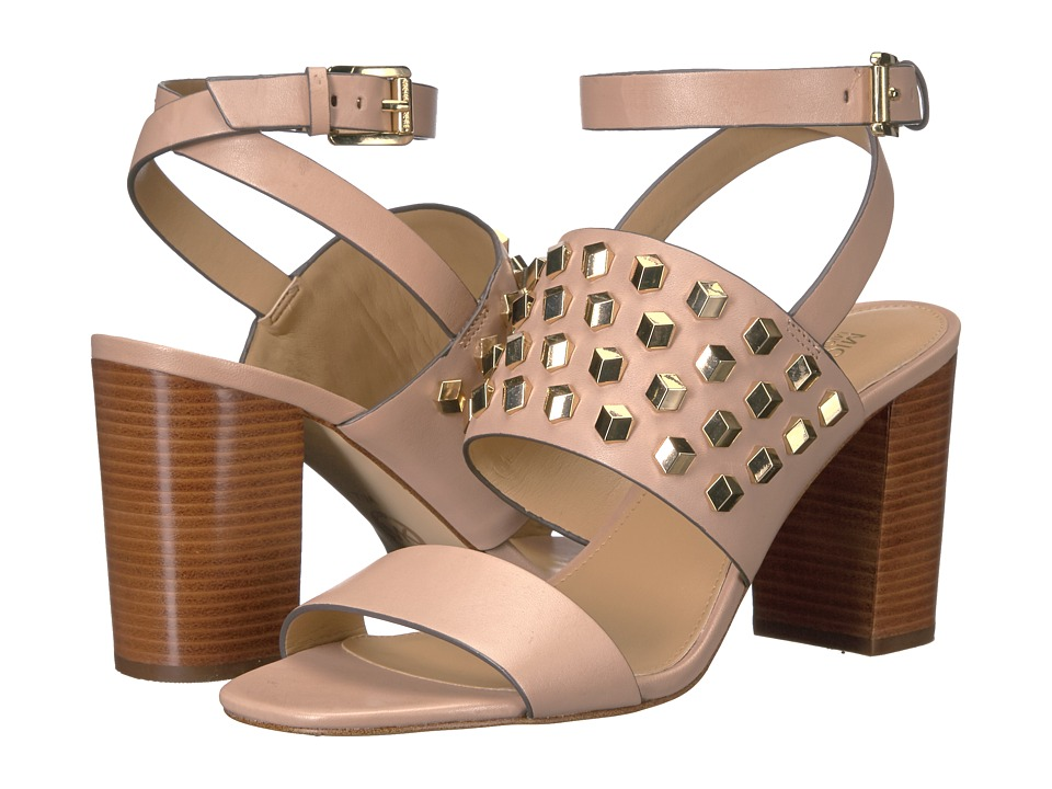 MICHAEL Michael Kors - Valencia Ankle Strap (Oyster Vachetta) Women's Shoes