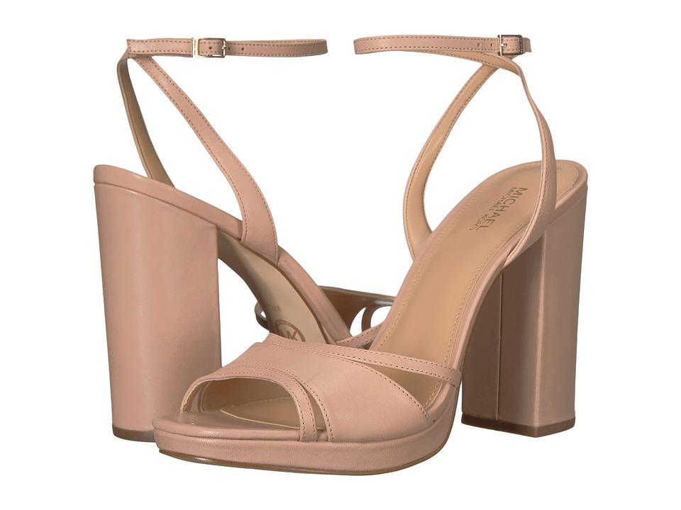 MICHAEL Michael Kors - Yoonie Platform (Oyster Vachetta) Women's Shoes