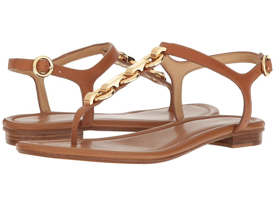 MICHAEL Michael Kors - Mahari Thong (Acorn Smooth Calf) Women's Shoes