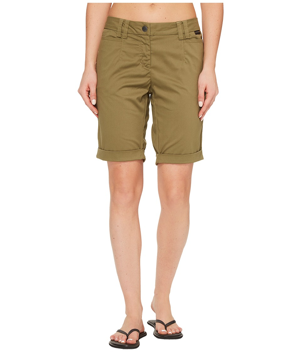 Jack Wolfskin - Liberty Shorts (Burnt Olive) Women's Shorts