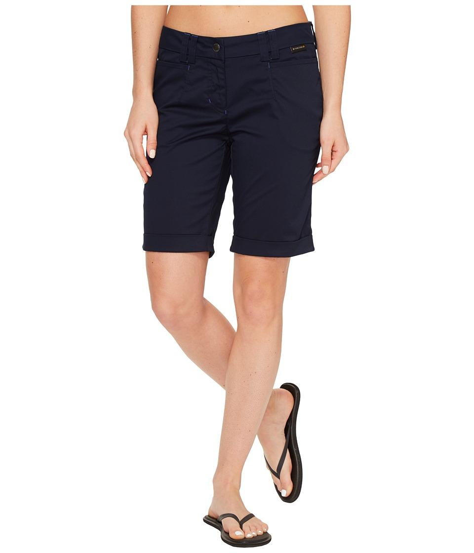 Jack Wolfskin - Liberty Shorts (Midnight Blue) Women's Shorts