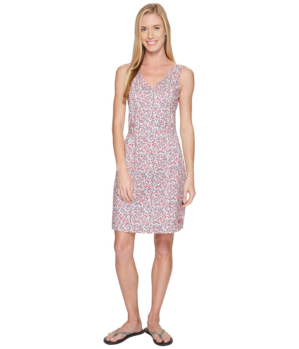 Jack Wolfskin - Wahia Millefleur Dress (Tropic Pink All Over) Women's Dress