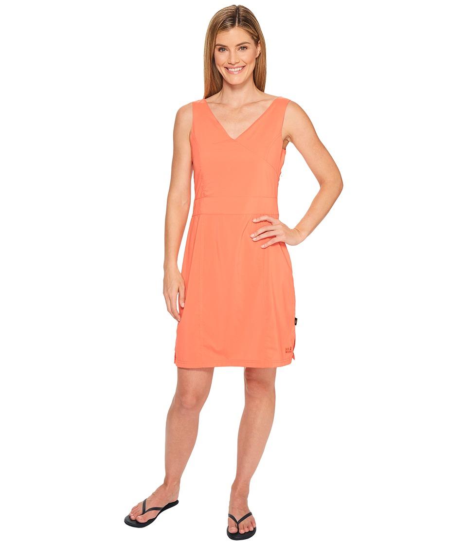 Jack Wolfskin - Wahia Dress (Hot Coral) Women's Dress