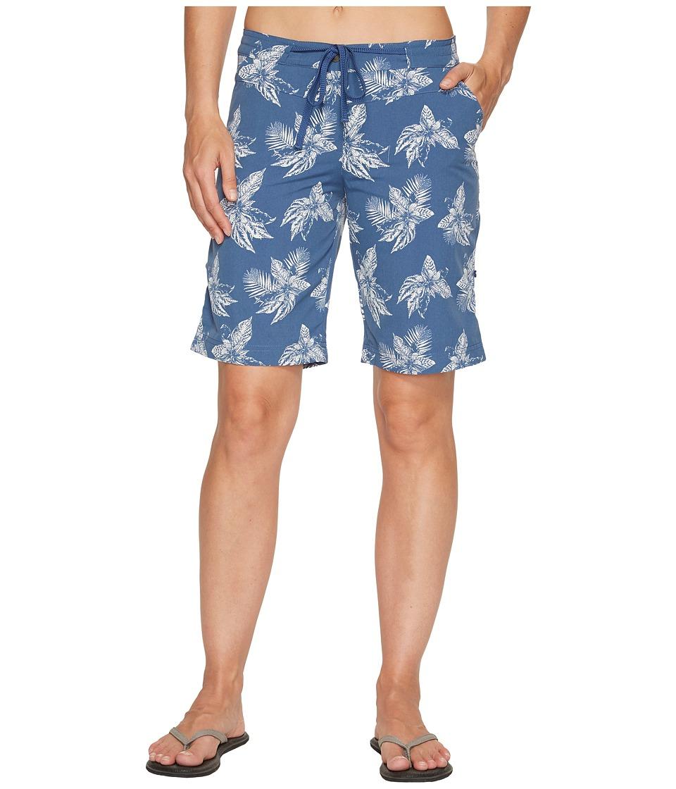 Jack Wolfskin - Pomona Tropical Shorts (Ocean Wave All Over) Women's Shorts