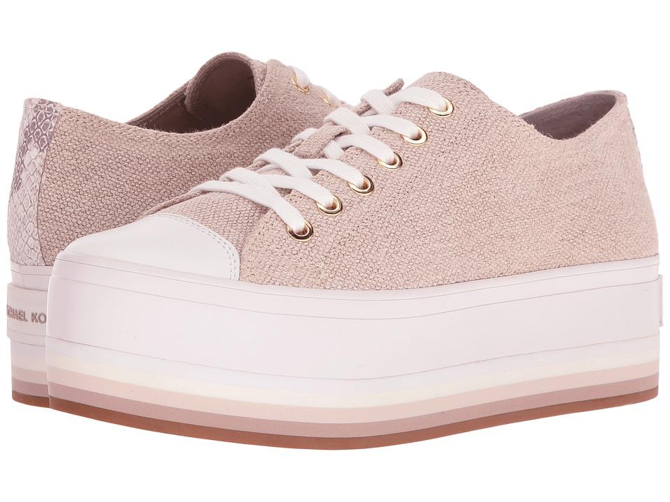 MICHAEL Michael Kors - Ronnie Sneaker (Natural Hemp/Suprema Nappa Sport/Buffed Embosssed Python) Women's Shoes