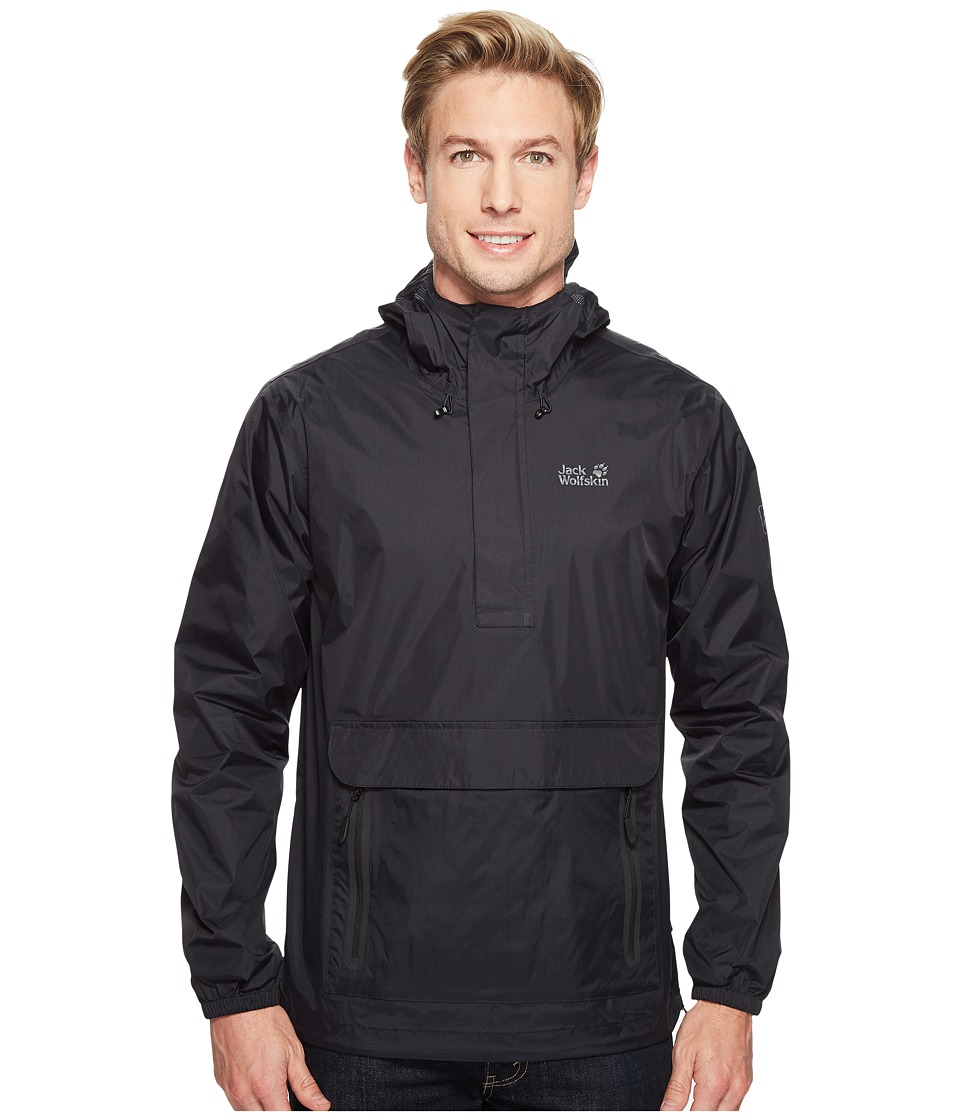 Jack Wolfskin Cloudburst Smock (Black) Men