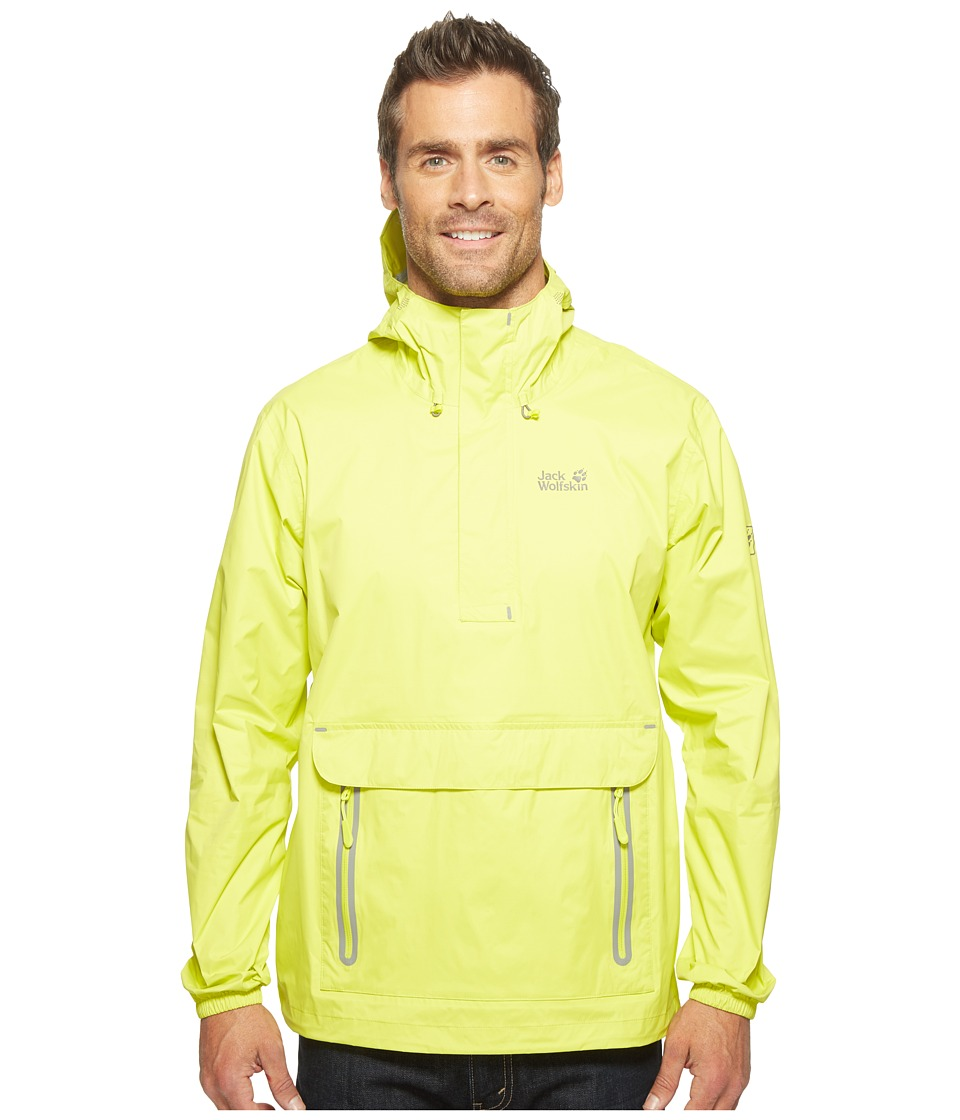 Jack Wolfskin - Cloudburst Smock (Flashing Green) Men's Coat