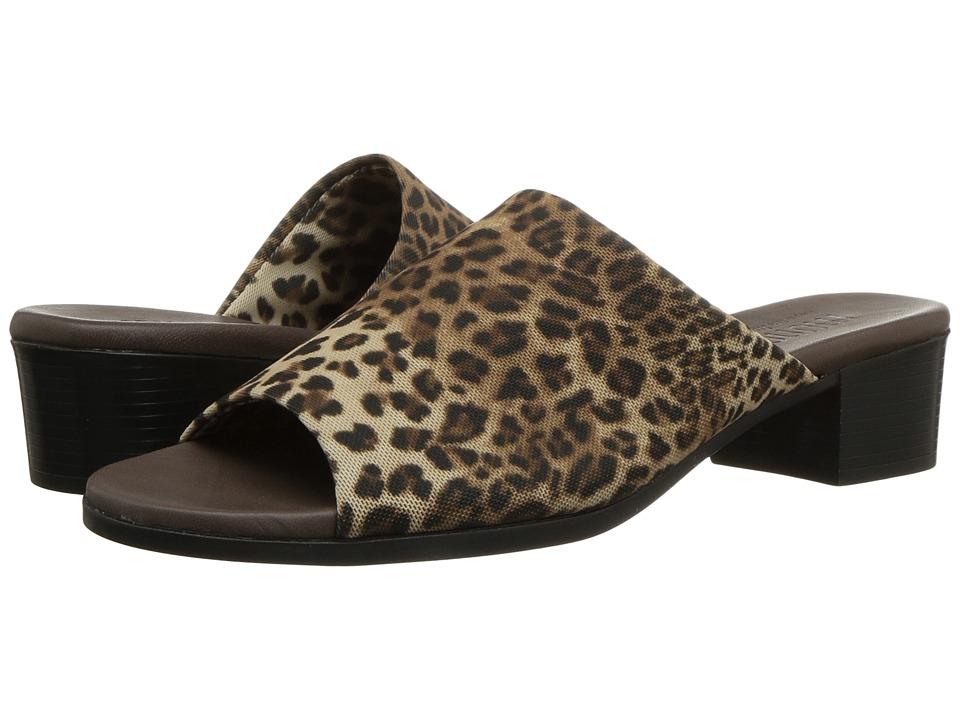 Munro Beth (Leopard Stretch Fabric) Women