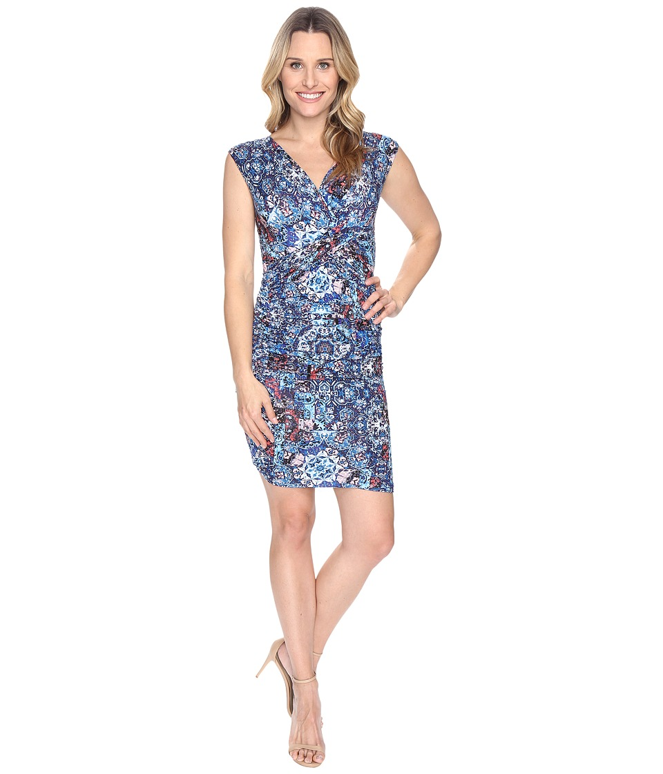 KUT from the Kloth - Lila (Navy/Pink) Women's Dress