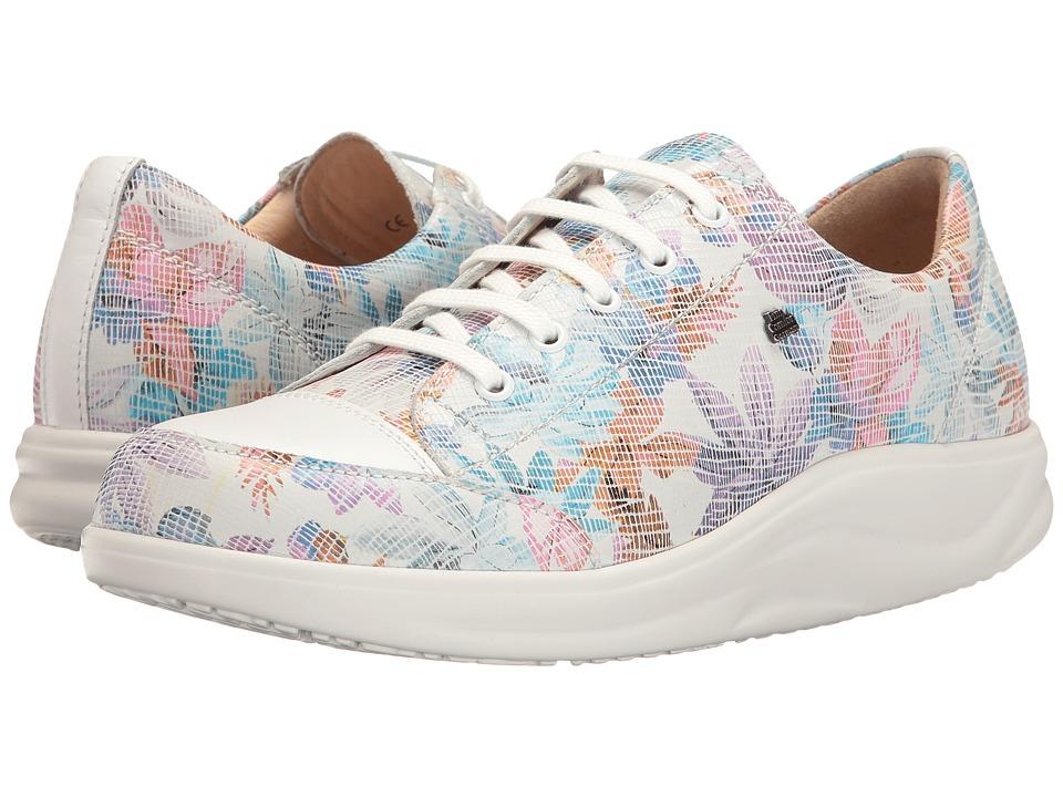Finn Comfort - Ikebukuro (Bianco/White Parson/Nappa) Women's Lace up casual Shoes