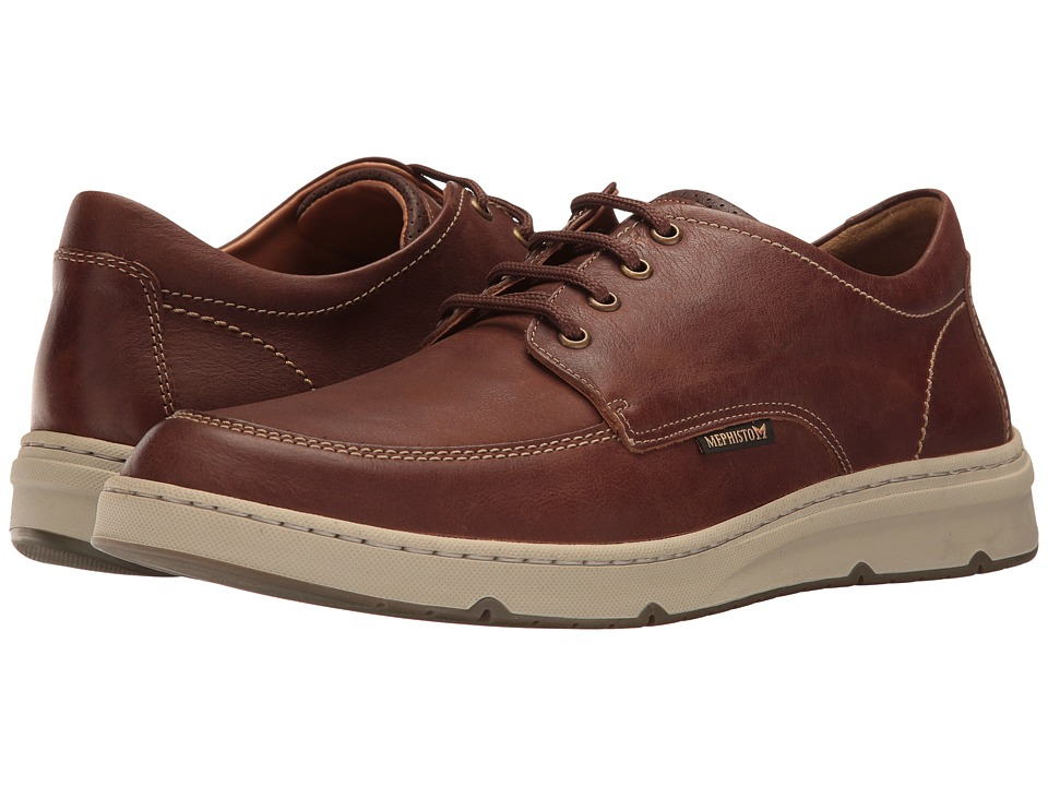 Mephisto Justin (Hazelnut/Dark Brown Kansas) Men