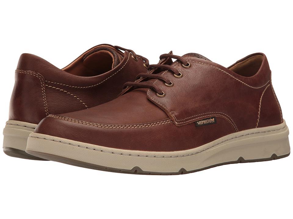 Mephisto - Justin (Hazelnut/Dark Brown Kansas) Men's Lace up casual Shoes