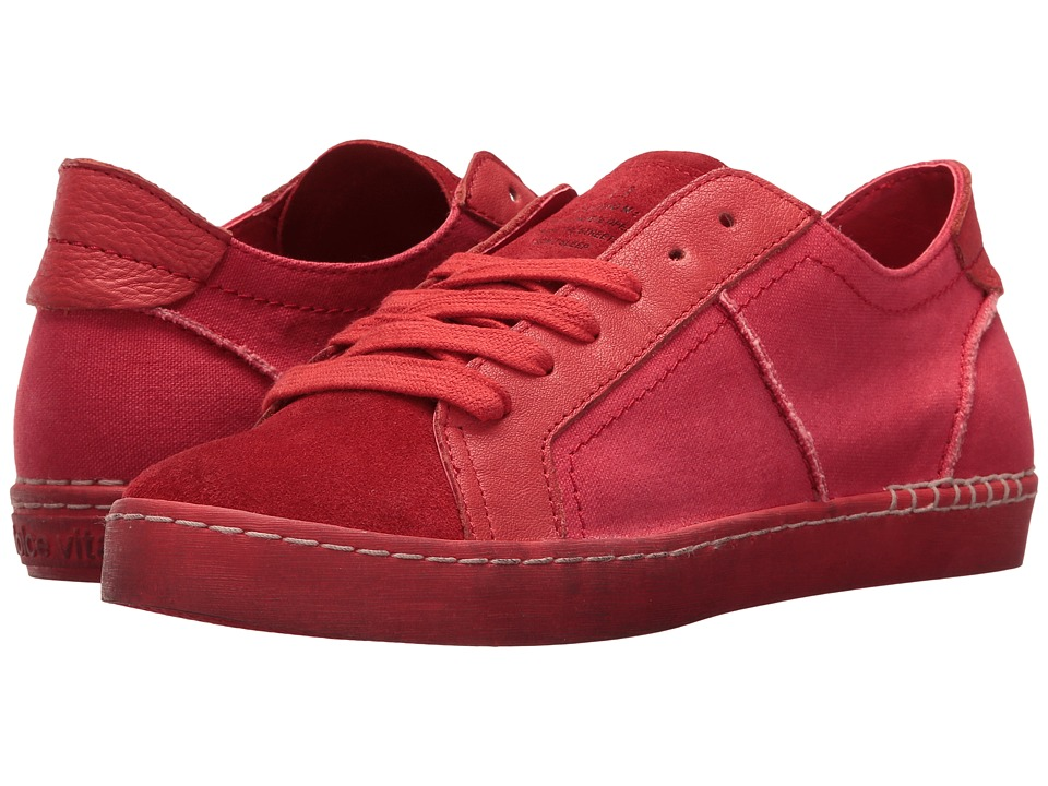 Dolce Vita - Zalen (Red Canvas) Women's Shoes