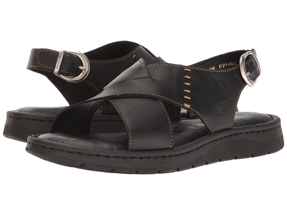 Born - Balanga (Black Full Grain) Women's Shoes