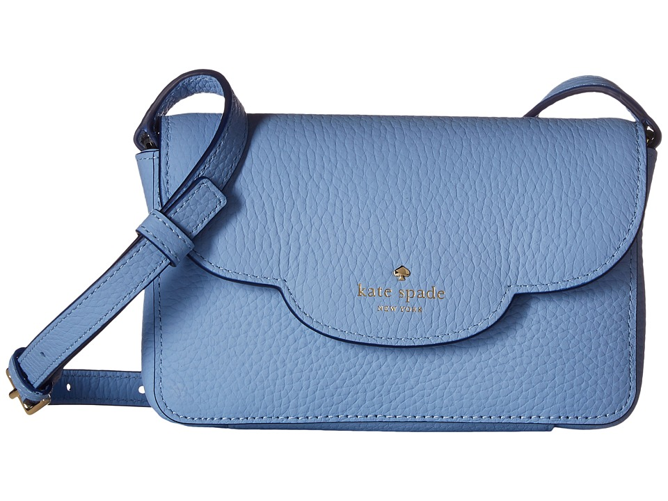 Kate Spade New York - Leewood Place Joley (Soundview Blue) Handbags