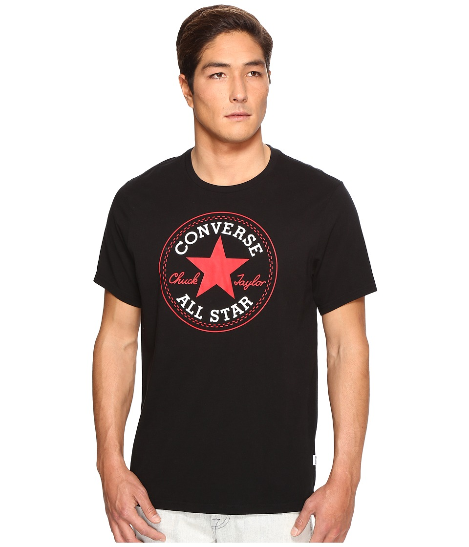 Converse - Core Chuck Patch Tee (Black) Men's T Shirt
