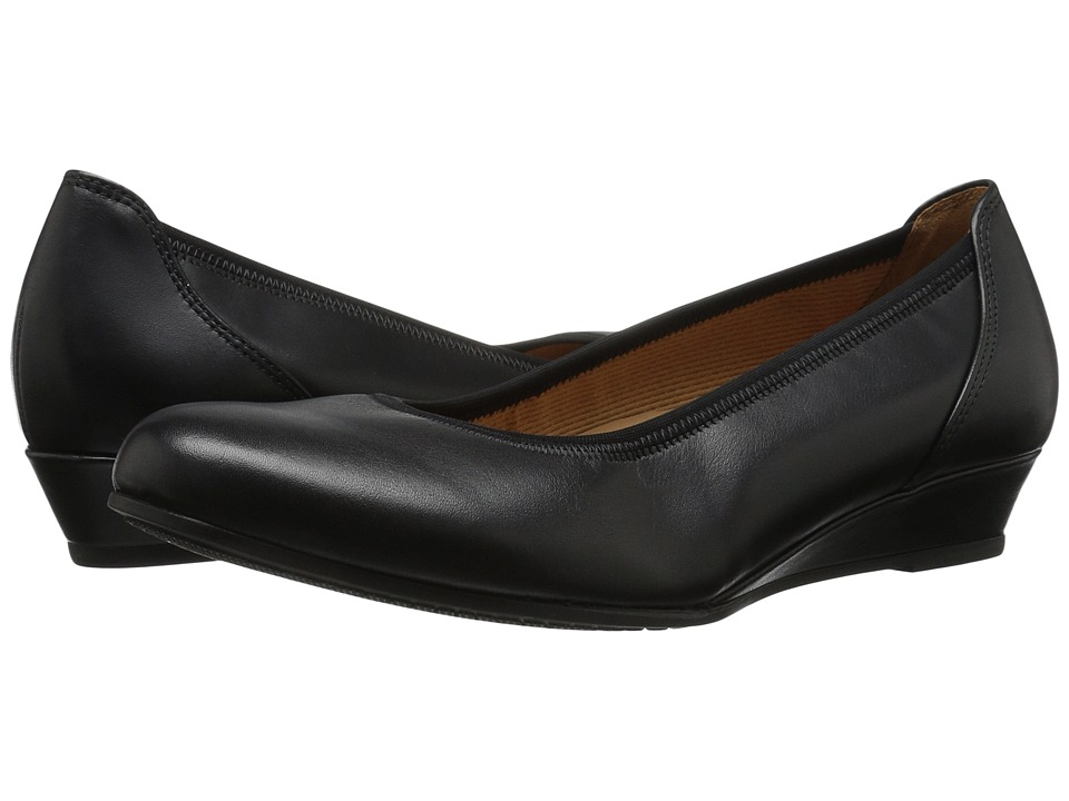 Gabor - Gabor 6.2690 (Black) Women's Slip on Shoes