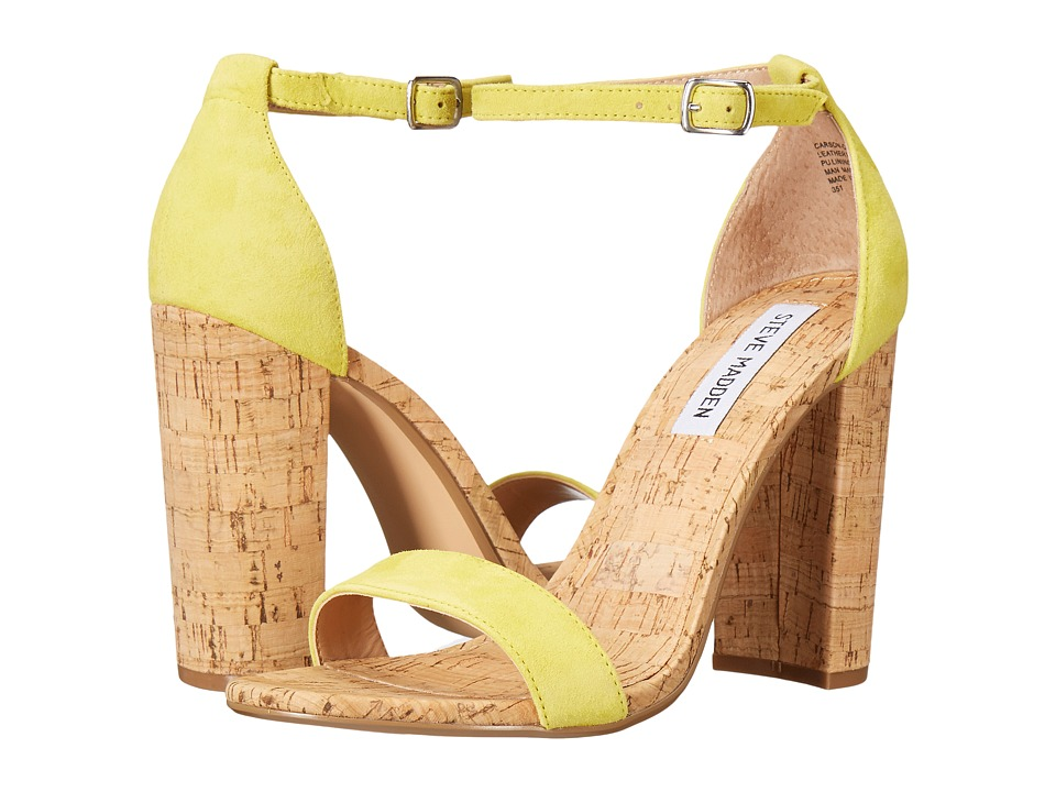 Steve Madden - Carson-C (Yellow Suede) Women's Shoes