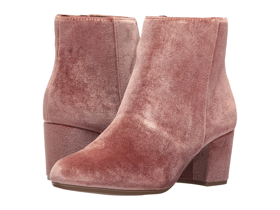 Steve Madden - Holster (Blush Velvet) Women's Pull-on Boots